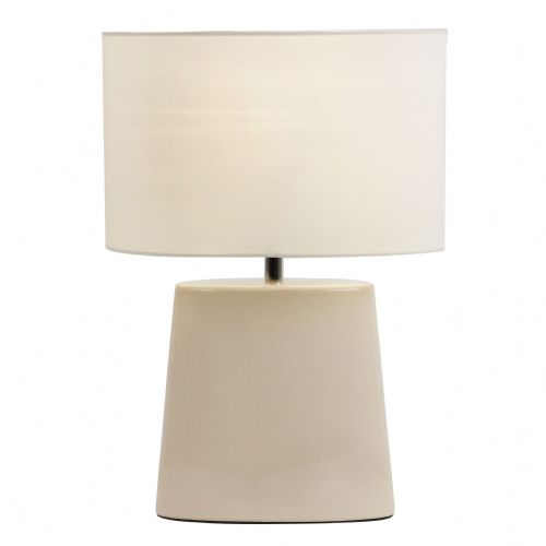 Ceramic Table Lamp With Crackle Glaze Efect BXIRIS-TLCR-17 (Class 2 Double Insulated)
